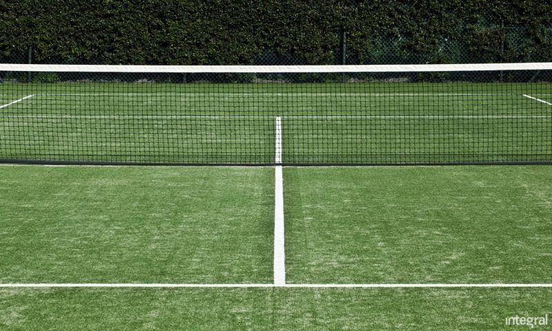 Artificial Grass Tennis Court Construction Integral Grass