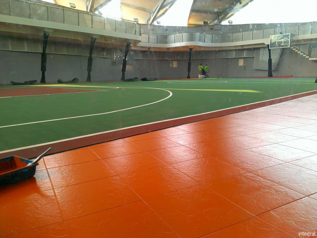 Integral, Acrylic Floor Covering systems