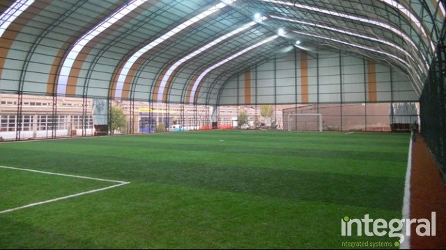 How to Build Indoor Grass Carpet Field? - Integral Gass