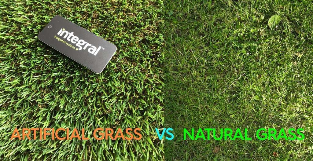 Artificial Grass vs Natural Grass