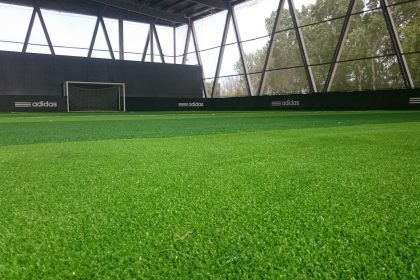 Where artificial grass used