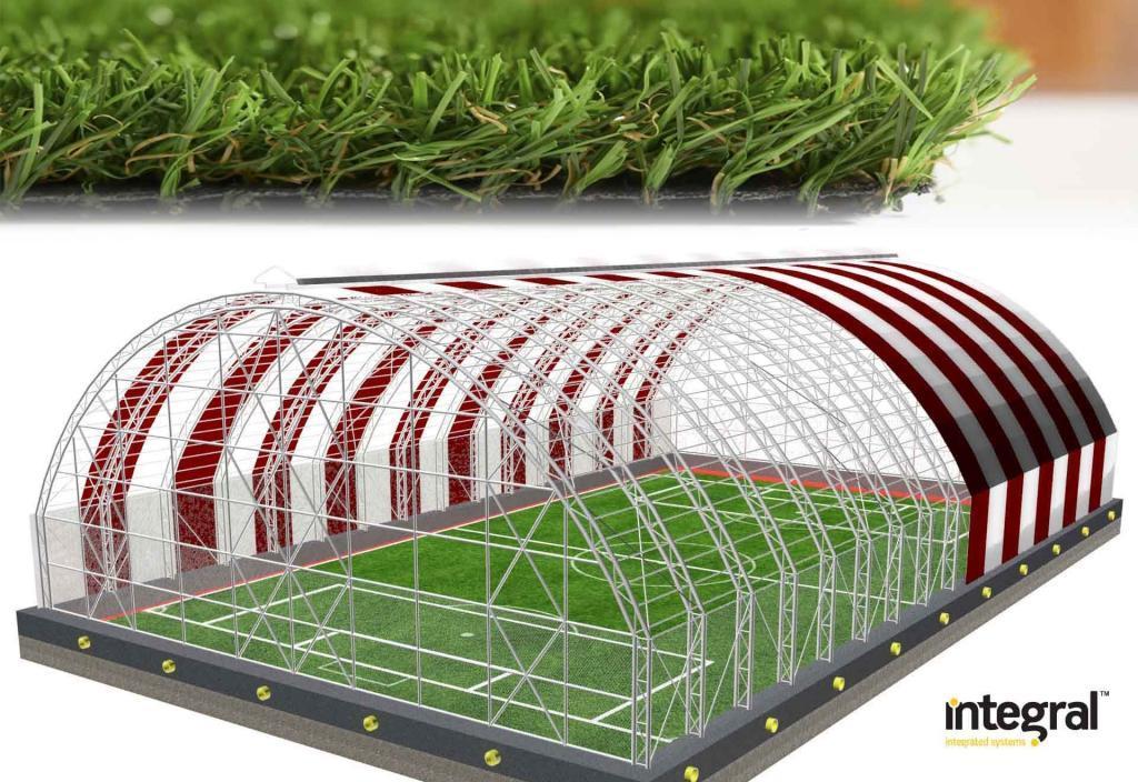 Fake grass installation