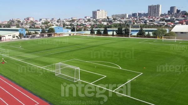 ARTIFICIAL GRASS FOOTBALL FIELD