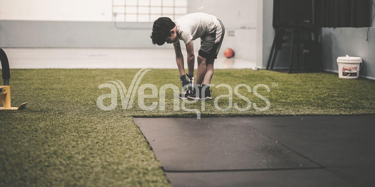 tapis en gazon artificiel